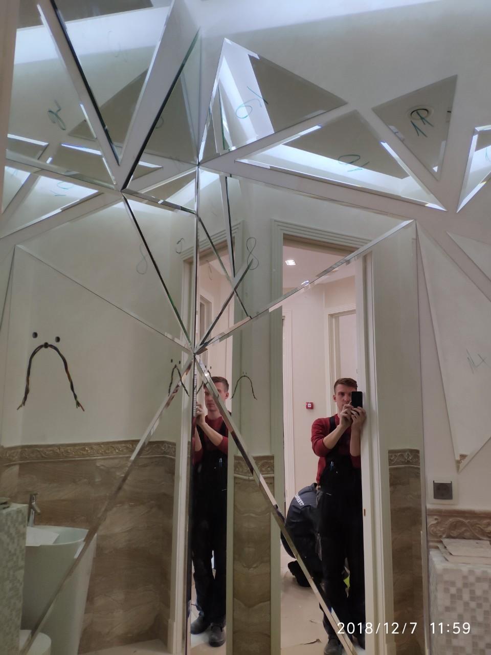 Зеркальное пано